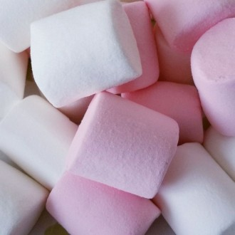 Marshmallows blancs et roses